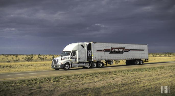 Auto Manufacturing Woes Sink P.A.M. Transportation's Q2