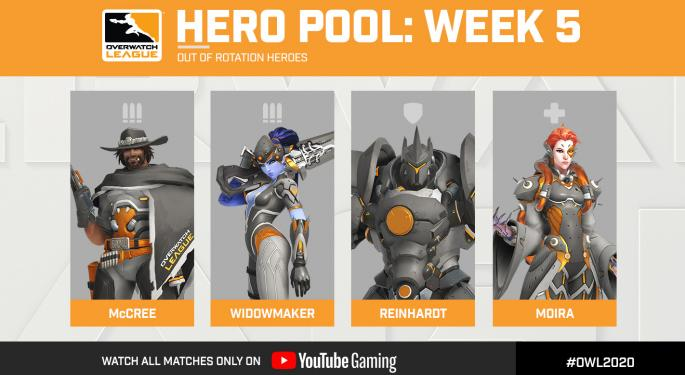 Overwatch League Hero Pool Rotation: What You Need To Know