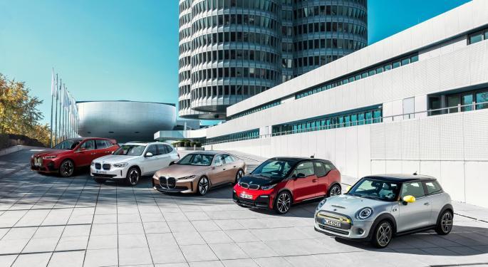 BMW Raises 2023 EV Manufacturing Target By 250,000 Units