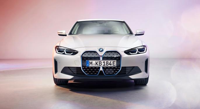BMW Says It Will Electrify 50% Of Vehicles By 2030, Offers First Glimpse Of i4 EV Sedan