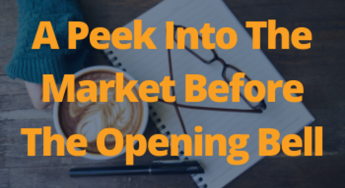 A Peek Into The Markets: US Stock Futures Edge Lower Ahead Of Verizon Earnings