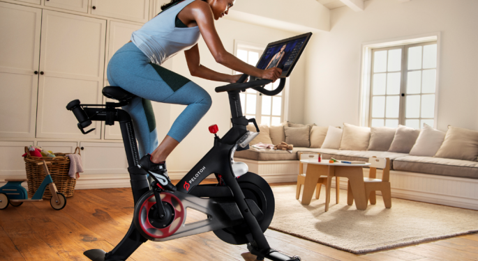 BofA Wants To Take Peloton's Stock For A Spin