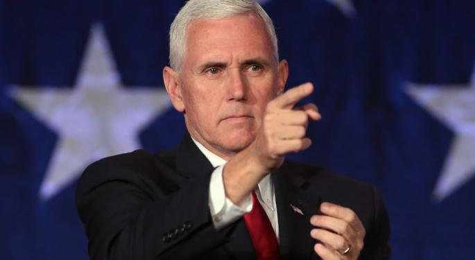 In UK, Pence Pushes For Trade Deal
