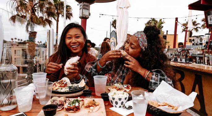 3 ETF con una mayor ponderación en restaurantes