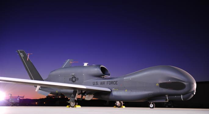 Credit Suisse Expects Northrop Grumman To Outperform