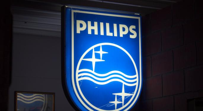 Why Philips' Stock Is Trading Higher In Pre-Market Today