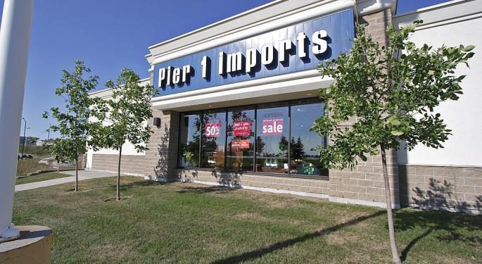Pier 1 Shares Plummet As Company Shuts Down 450 Stores, Sales Decline