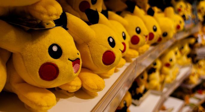 Pokémon GO Helps Bump Nintendo's Market Cap $9 Billion In 2 Days