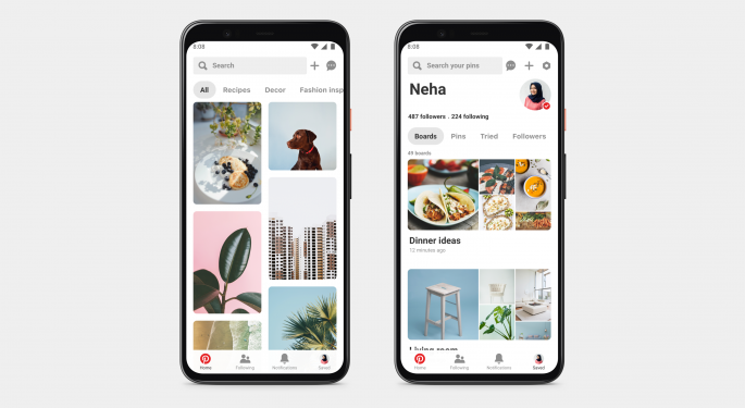 Pinterest Rallies On Q3 Results, Analysts Say Platform Becoming An E-Commerce Play