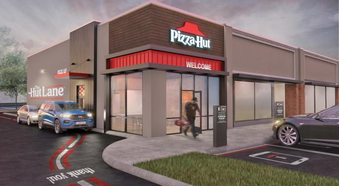 Pizza Hut Gets In On Drive Through Trend With Launch Of The Hut Lane