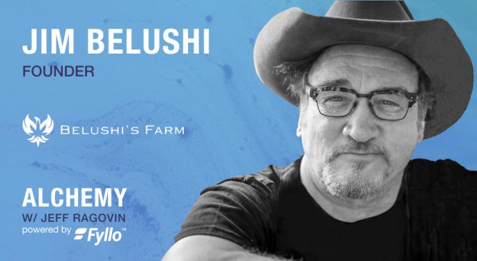 Alchemy Podcast: Jim Belushi Talks Weed With Fyllo's Jeff Ragovin And Chad Bronstein