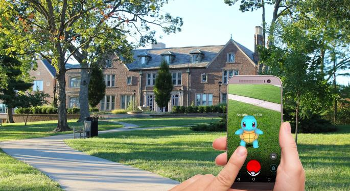 Pokémon Go Having Best Year Ever: Why Investors Should Watch Nintendo's Stock