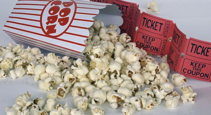 Movie Theater Stocks Spike On Rumors Of Regal Takeover