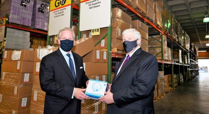 CMA CGM Donates 200,000 Face Masks