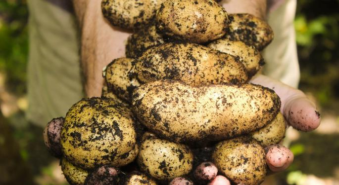 Mother Nature Turns Midwestern Spuds To Duds