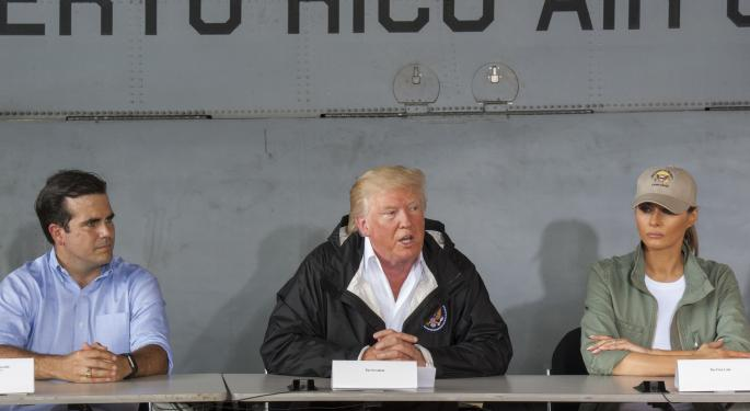 Trump Claims Puerto Rico's Bond Debt Will Be 'Wiped Out,' Here's Who'd Lose Big