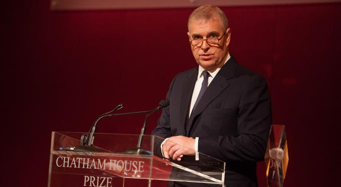 US Sends Demand To UK To Quiz Prince Andrew On Epstein Links