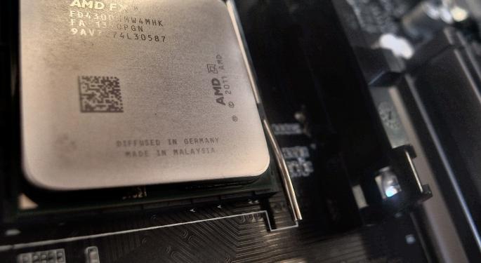 AMD Falls As Major Shareholder Sells