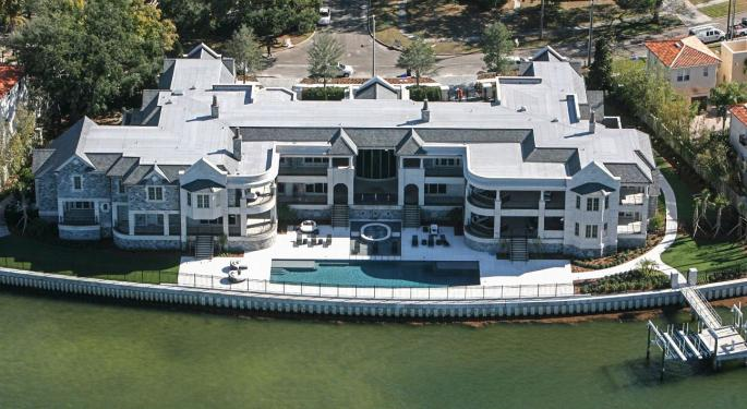Check Out Derek Jeter's Tampa Estate On The Market For $29M