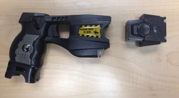 Expect A Strong Quarter From Taser, But Video Competition Concerns Linger