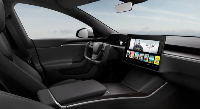 Tesla's Latest Software Update Brings TikTok, Updated Music To Cars In China