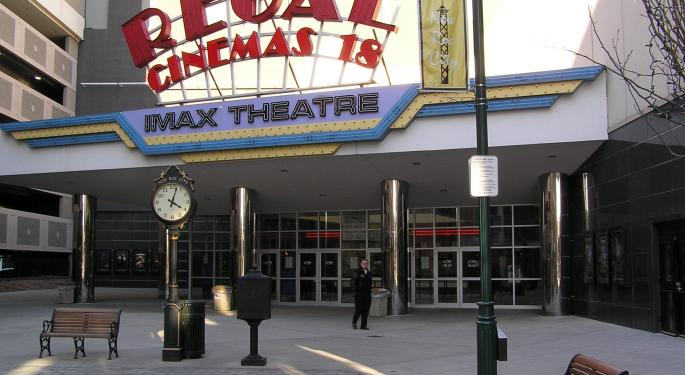 Taking Advantage Of Weakness In Regal Entertainment Shares