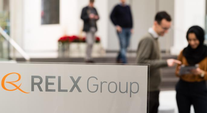 Goldman Sachs: Relx Group Offers 'Increasingly Scarce' Combination Of Growth, Returns
