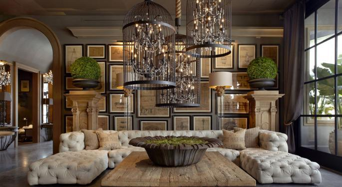 Citron Says Restoration Hardware Poised To Jump 'Into Hyper Speed'