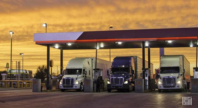 US Crude Oil Just Did Something Unbelievable; What Does It Mean For Trucking?