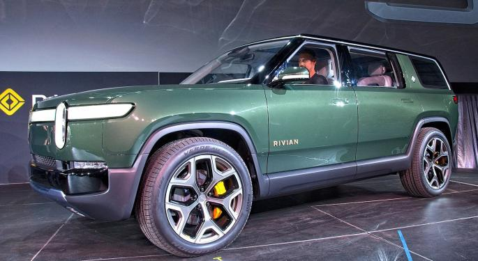 Tesla Rival Rivian Selects Underwriters For IPO, Could Seek $70B Valuation
