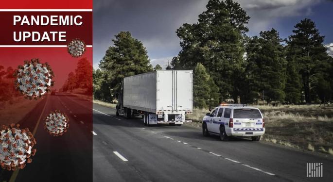 Roadside Enforcement Could Decline As COVID-19 Picks Up