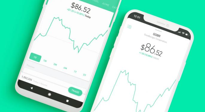 Robinhood Offers Credit To Users Affected By Massive Outage