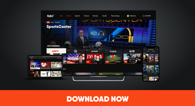 FuboTV Shares Pop On Caesars Partnership, Access To Additional States For Sports Betting