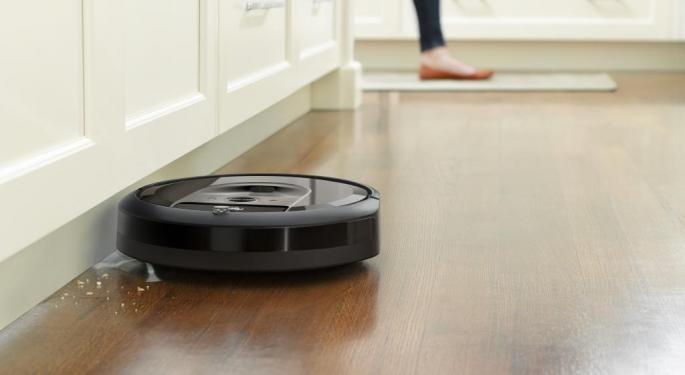 Why iRobot's Stock Is Trading Higher Today
