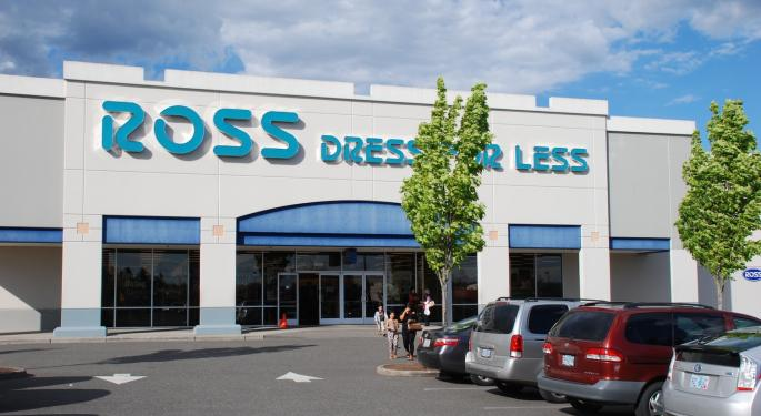 Morgan Stanley, BofA Continue To Recommend Ross Stores