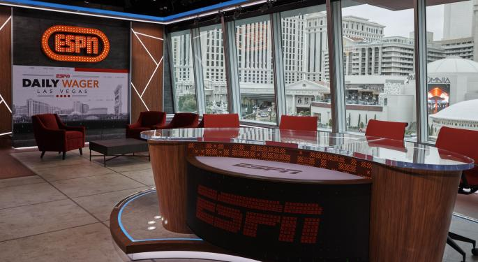 ESPN Diversifies With Sports Betting Deals From DraftKings And Caesars