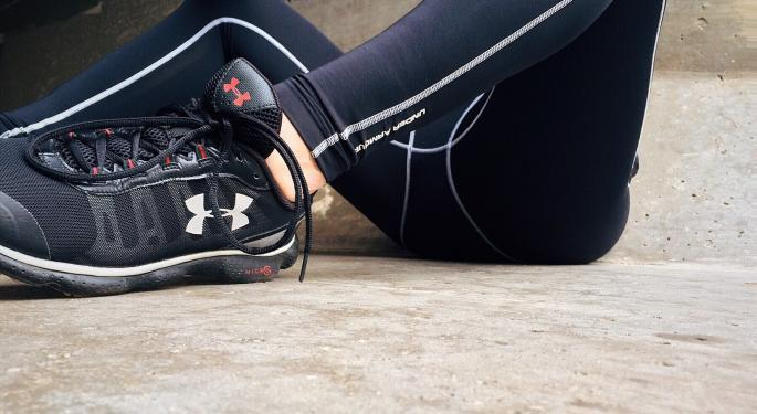 Why Is Under Armour's Stock Trading Higher Today?
