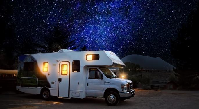 Why Camping World's Stock Is Trading Higher Today