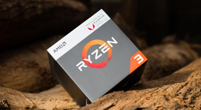 AMD Bags Second Price Target Hike In Two Days