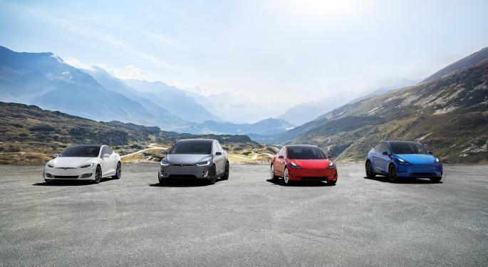 Jefferies Upgrades Tesla, Says Company Is 'Doubling Market Coverage With Model Y'
