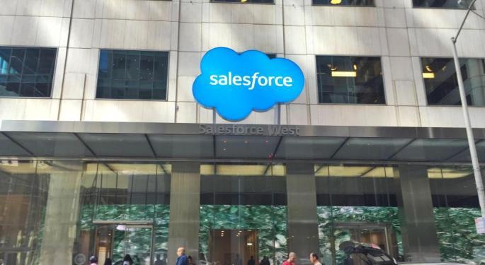 The Street Loves Still Loves Salesforce