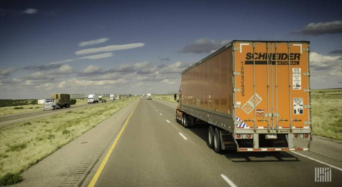 Schneider Expects Second Quarter 'Trough,' Some Customers Coming Back Online