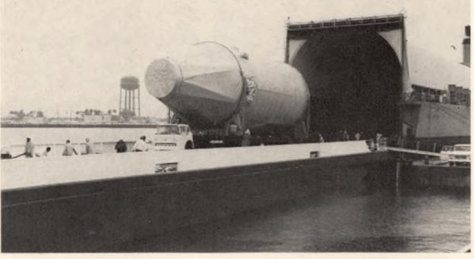FreightWaves Flashback: Moon Craft Arrives On Ocean Barge