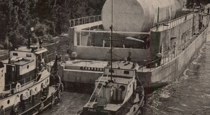 FreightWaves Flashback 1963: Airplane Displaces Ship In Saturn S-IV Transportation Role