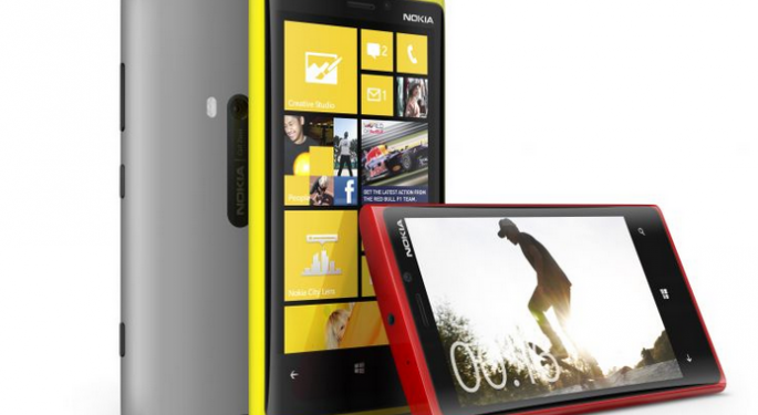 Nokia's Lumia 920 Sold Out on Black Friday