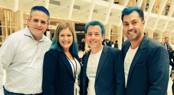 TradeStation Wanted To Break The Mold, So They Died Their Hair Blue And Stopped Buying Ads On CNBC