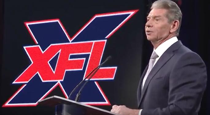 XFL Inks TV Deal with ESPN, Fox