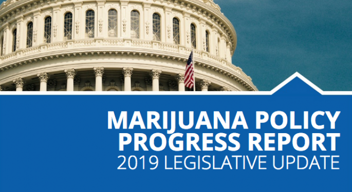 Every Major Legislative Win Related To Cannabis Is Included In The Marijuana Policy Project's 2019 Report