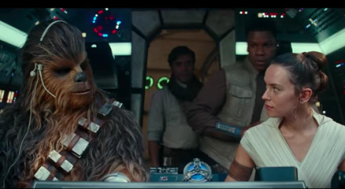 Disney's 'Rise Of Skywalker' Earns $374M Worldwide Opening Weekend