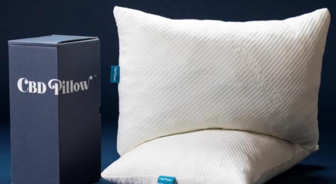 This $129 CBD Pillow Promises Overnight Microdoses